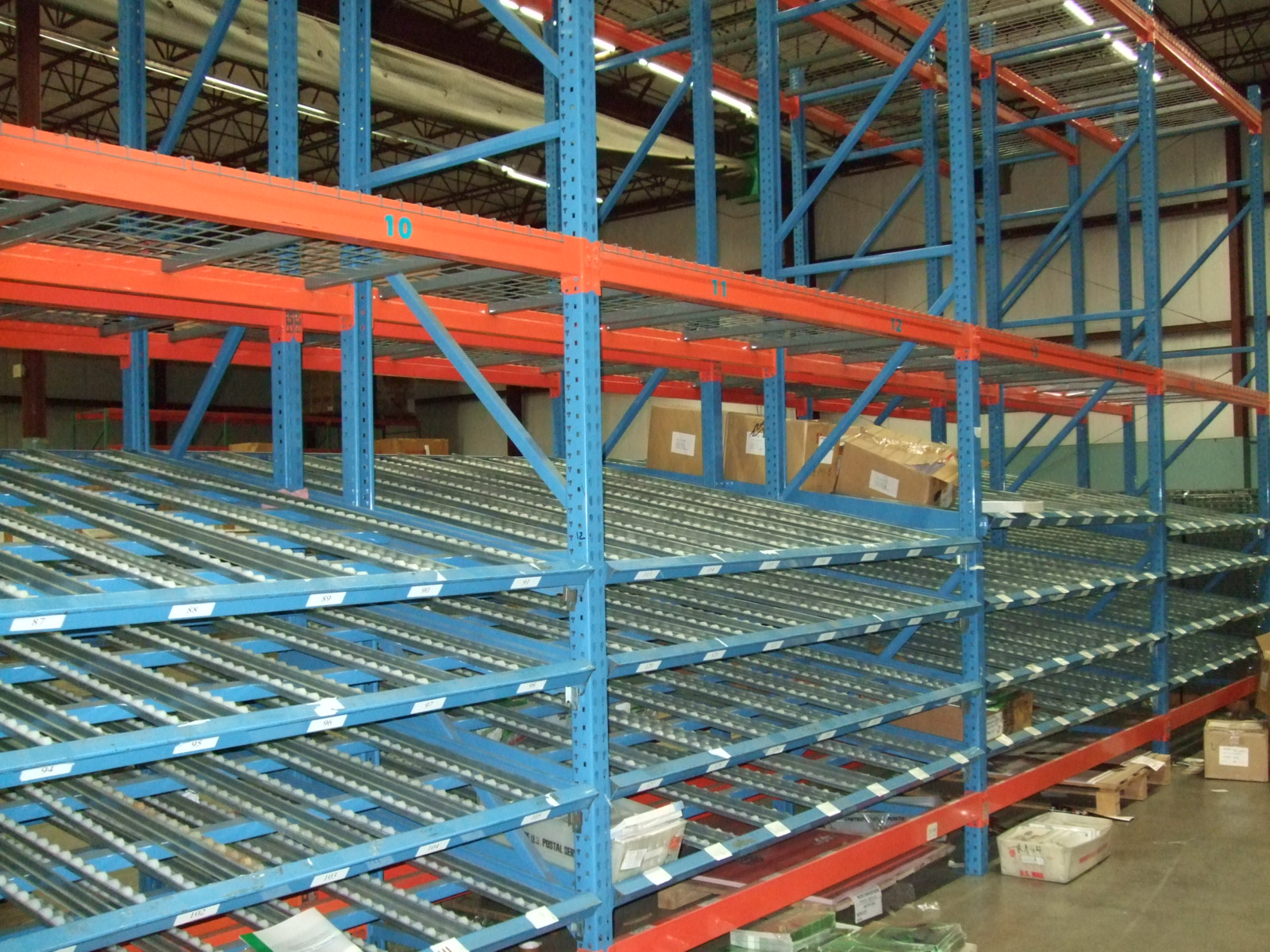 A&A Surplus Inc. - Push Back Racking Information