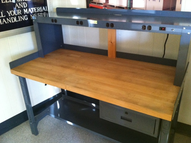 New Amp Used Workbenches Stanley Vidmar Equipto